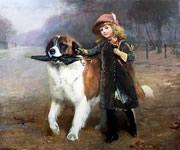 Charles Burton Barber painting