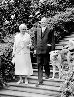 President and Mrs. Hoover AP Photo