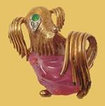 Boucher dog pin