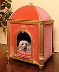 Marie Antoinette style dog house