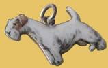 Terrier dog charm
